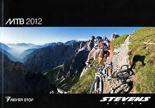 Catalogo 2012 Stevens MTB Biciclette Bikes prospetto BICICLETTA 3s 4s maratona Fluent