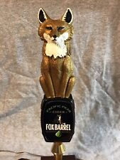 Pacific Pear Cider Fox Barrel Tap Handle - Free Shipping!