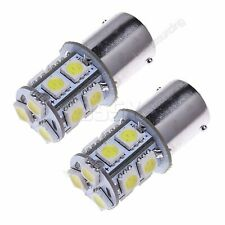 2x White 382 P21W 1156 Bulb 13 SMD LED Sidelight Turn Indicator Tail Stop Light