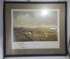 """Vintage ORIGINAL SIGNED PRINT """"The Limerick From The Black Hill"""" by JOHN KEY Art"""