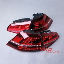 LED Dark Red Taillights Tail Lamps Tail Light Suitable For VW Golf GTI R MK7