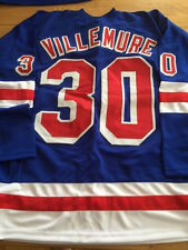 New York Rangers Gilles Villemure unsigned jersey
