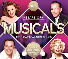 STARS OF MUSICALS (FRANK SINATRA, MICHAEL CRAWFORD, JOHN BARROWMAN) 3 CD NEW+