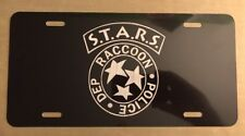 Resident Evil S.T.A.R.S. - Racoon City PD License Plate