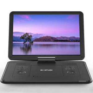 """17'' Portable DVD Player With  15.6"""" HD 1280P Screen with 6 Hours Battery US"""