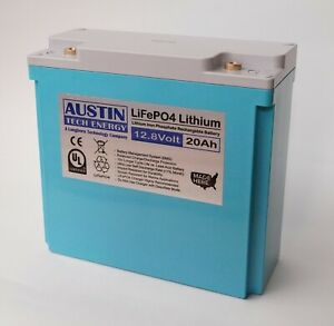 >>PRESIDENTS DAY SALES<< LiFePO4 12.8-Volt 20Ah Lithium Iron Phosphate Battery