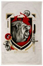 Harry Potter - Gryffindor Tea Towel - New, With Tags