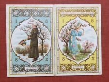Kate Greenaway / Calendar of the Seasons 1882 1881