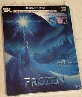 FAST SHIPPING - Frozen SteelBook - Includes Digital Copy 4K Ultra HD Blu-ray