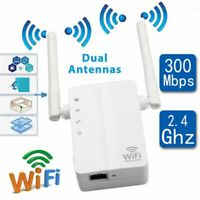 US 300Mbps Wireless WiFi Repeater Range Extender Signal Booster Network Router