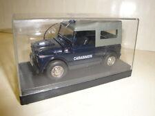 OLD CARS MODELLINO MADE IN ITALY JEEP FIAT CAMPAGNOLA CARABINIERI 1/43 in box