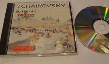 TCHAIKOVSKY: Suites 1 & 2 SVETLANOV, USSR S.O. CD Melodiya W. Germany 1994