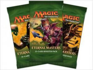 MAGIC THE GATHERING CCG - Eternal Masters Cards Booster Packs (19) | WOTC #NEW