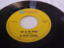 70's SALSA / EL GRAN COMBO NO ES DE PENA / MUNDY BAJA SELLO GEMA / 45RPM