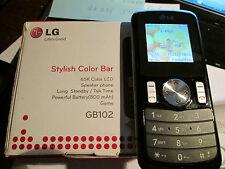 LG GP 102  OVP schwarz / ohne SIM / sehr gut erhalten Art. Nr. 63 X