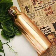 New Solid Plain Copper Bottle To Boost Immune System And Other Health Benefits