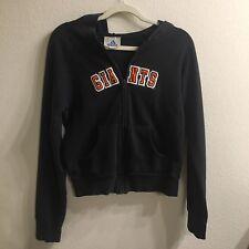 Women Adidas San Francisco Giants Logo Emblem Stitch Hoodie Small