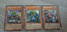 Yu-Gi-Oh, Sphinx Set :Theinen The Great + Andro+ Teleia (NM) Send In Toploader