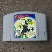 Gex 64: Enter the Gecko N64 Nintendo 64 Game Authentic 1998