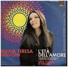 16779 - MARIA TERESA GOVONI - L'ETA DELL' AMORE
