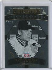 TOM GLAVINE Braves 2015 Panini Cooperstown #6 Induction Gold Insert /25 SP