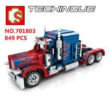 849 pcs Sembo Blocks Kids Building Toys Boys Puzzle Truck Car Model GIft