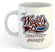 The Worlds Best Transport Manager Mug