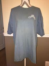 Reel Legends Mens Short Sleeve T Shirt XL Cotton Fish Blue Fishing