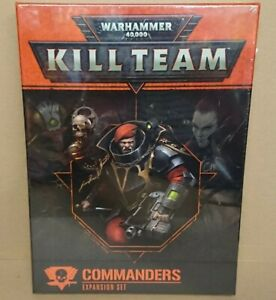 RARE Warhammer 40k 102-44-60 KILL TEAM Commanders Expansion Set NEW/SEALED
