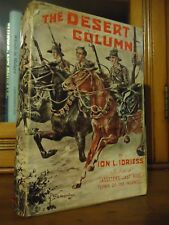 Ion Idriess - The Desert Column - 1st edition - 1st Printing  DJ  - 1932 - ANZAC
