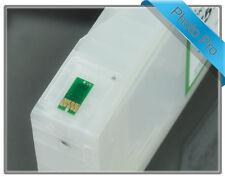 8 x RIHAC Refillable Cartridges for Epson Stylus 7880 9880 VLM ink T6026 T6036