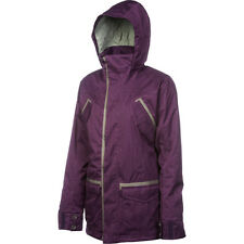 FOURSQUARE Women's RUNWAY Snow Jacket - PLUM - Small - NWT - Reg $300