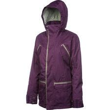 FOURSQUARE Women's RUNWAY Snow Jacket - PLUM - Small - NWT - Reg $300