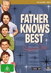 Father Knows Best: Season One (DVD, 2008, 4-Disc Set) Brand New  Region 4