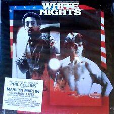 WHITE NIGHTS - PHIL COLLINS - ATLANTIC LP + HYPE STICKER - 1985 - SEALED