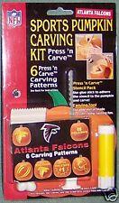 Atlanta Falcons Halloween Pumpkin Carving Kit NEW! Stencils Jack-O-Latern FUN!