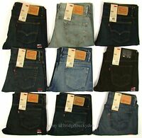 Levis 569 Jeans New Mens Loose Fit Straight Leg Levi's Relaxed