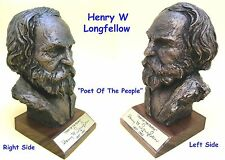 BUST - Henry Wadsworth LONGFELLOW (1807-1882)  Hand Crafted  in USA  Retired