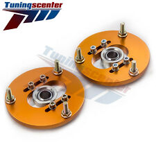 2x Front Coilover Camber Plate Top Mounts for BMW E46 320i 323i 328Ci 330xi M3