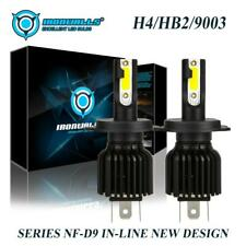 2200W H4 LED Headlight Bulbs Kit Hi Lo Beam 6000K 9003 HB2 for Honda Fit 2007-19
