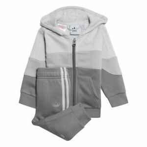 adidas Originals infant BX 2.0 grey hooded tracksuit. Various sizes!