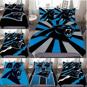 Carolina Panthers 3PCS Bedding Set Duvet Cover Pillowcase Comforter Cover Gifts