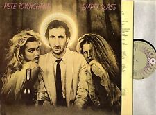 PETE TOWNSHEND (OF THE WHO) empty glass (1st uk & lyric inner) LP VG/VG+ K50699