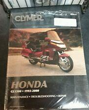 Clymer Honda Goldwing GL1500 service manual '93 - 00