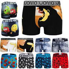 6-12 Pack Boxershorts Baumwolle Herren Retro Unterhosen Unterwäsche Shorts M-3XL