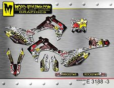 Honda CRf 450 R 2013 up to 2016 graphics decals kit Moto StyleMX