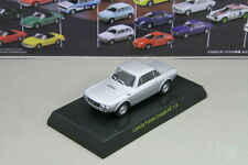 Kyosho 1/64 Lancia Fulvia Coupe HF 1.6 Silver Minicar Collection 2007 Japan Fiat