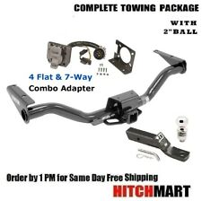"6K TRAILER HITCH PACKAGE 2"" BALL  FOR 2015-2019 CHEVY COLORADO, CANYON w TOW PKG"