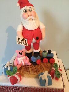Edible BESPOKE 3 FIGURE FOR XMAS CAKE  Cake Decoration Cake Topper
