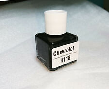 Pick Your Color FOR Chevrolet Touch Up Paint Brush Black Color Code 5118 8ml